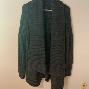 American Eagle Cable Cardigan